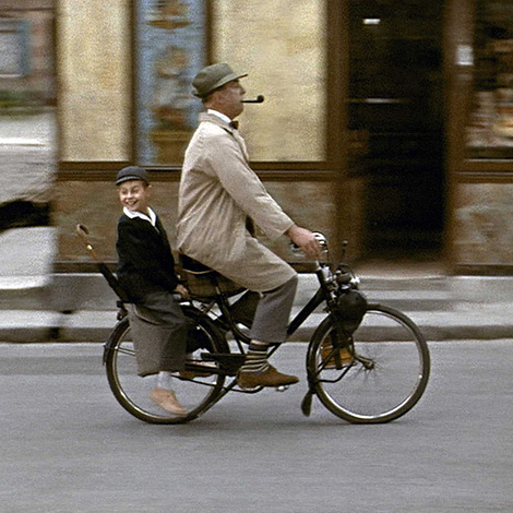 thehauntedballroom:  Mon Oncle, by Jacques Tati. Watch it again and again and again and again and again…