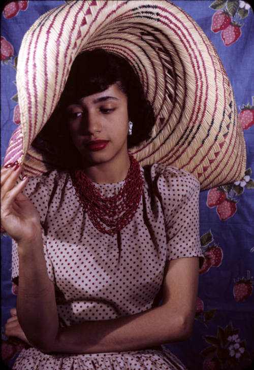 Jane White photographed by Carl Van Vechten, 1941.  Jane White is the daughter of Walter Francis White and Gladys White (1894 - 1979), an elite family of the Harlem Renaissance. She is also the sister of (Walter) Carl Darrow White. She was educated at Smith College and led an impressive stage career.