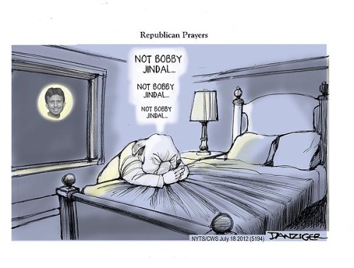 Jeff Danziger/Huffington Post (07/18/2012)