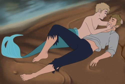 "ouijaprince:  The Little Mermaid was written as a love letter by Hans Christian Anderson to Edvard Collin. Anderson, upon hearing of Collin's engagement to a young woman, proclaimed his love to him. He told him ""I long for you as though you were a beautiful Calabrian girl."" Edvard Collin turned Anderson down, disgusted. Anderson then wrote The Little Mermaid to symbolize his inability to have Collin just as a mermaid cannot be with a human. He sent it to Collin in 1936 and it goes down in history as one of the most profound love letters ever written.  Most scholars and psychoanalysts concluded that Anderson was bisexual; however, he never acted upon his homosexual drives.  The Little Mermaid, as it was originally written, did not have a happy ending.    oh"
