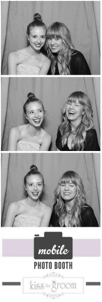 "Erin Skipley and I goofing around in the photo booth at Elizabeth Messina's ""Luminous Portraits"" book launch. Love!"