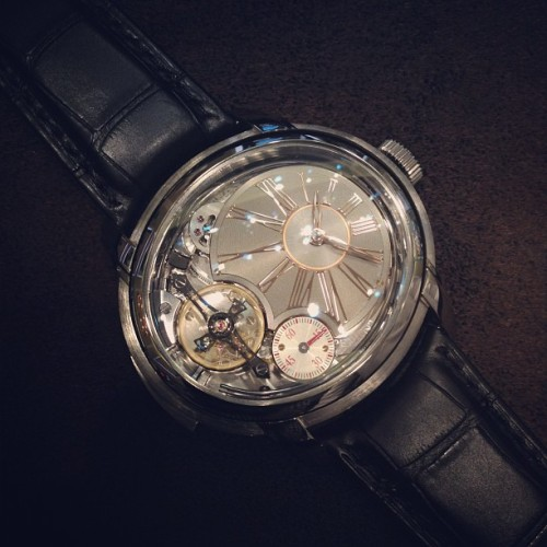 hodinkee:  Here is $470,000 worth of @audemars_piguet (Taken with Instagram)  Find more Audemars Piguet watches at Tourneau.com.
