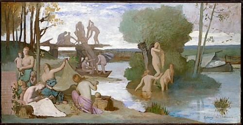 The River Pierre Puvis de Chavannes  (French, Lyons 1824–1898 Paris)