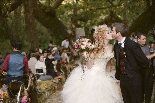 emmaroux:  Steampunk Wedding