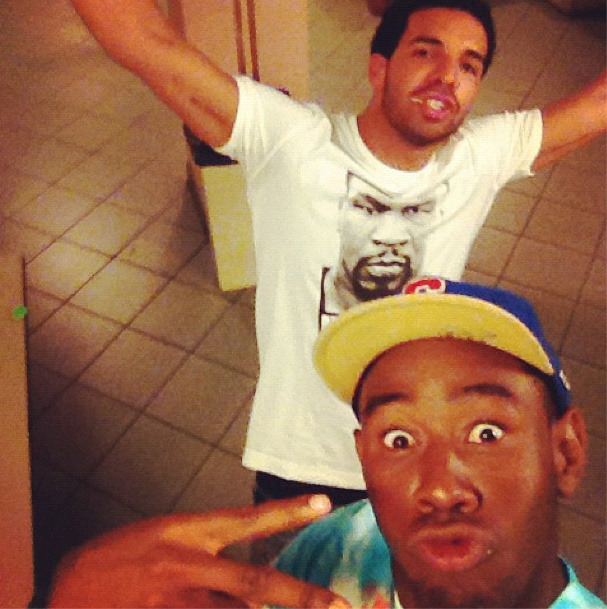 wordonrd:  Drake & Tyler The Creator   EVEN more butthurt neither of them came out wtf