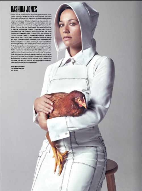 V Mag again…Rashida Jones is flaming #phuckwhatchuhurd