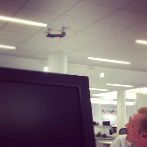 Helicopter in the office :) (Taken with Instagram)
