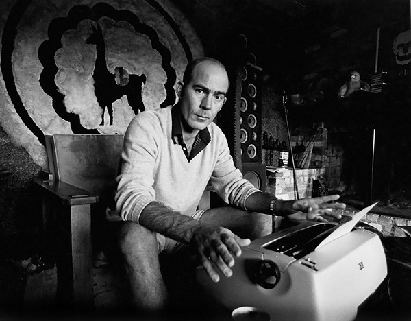 rollingstone:   Today would have been Hunter S. Thompson's 75th birthday.  Read an excerpt from his book 'Fear & Loathing on the Campaign Trail,' which was written about the 1972 presidential campaign and featured in the July 5, 1973 issue of Rolling Stone.   Remind me to tell you about the time us RS editorial internship nerds went to a glam rock party at Columbia and two of my friends were geeking out about Hunter S. Thompson and they told that story about the time Hunter ripped a fire extinguisher off the wall at the Rolling Stone office and sprayed Jann down with it, so my buddy in turn thought it'd be hilarious to rip the fire extinguisher off the Columbia dorm room wall and spray the hallway down with it, and some chick in a silver leotard and red velvet cape got really mad and told him to GTFO. Moral of the story: Read Hunter S. Thompson; do not fuck with fire safety equipment on university grounds because it is technically a federal felony.
