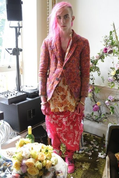 Meadham Kirchhoff | Men's SS13 | London Fashion Week