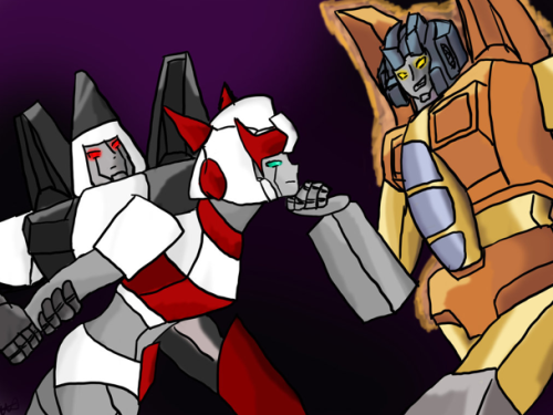 You seem a bit shakey, Sunstorm