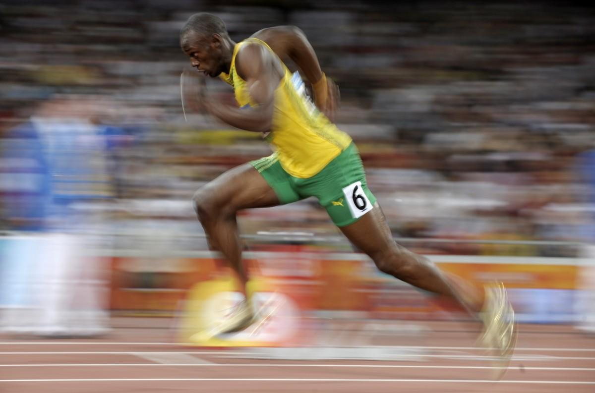 Will we ever run the 100 meter sprint in 9 seconds? The Olympics are just around the corner. With 43 world records set at the 2008 Beijing Olympics, what's in store for London? The 100 meter sprint has long been thought of as a test of the very limits of the human body. Are we as fast as we'll ever be? Ed Yong analyzes the biomechanics of the fastest human sprinters:  Put simply, fast people hit the ground more forcefully than slow people, relative to their body weight. But we know very little about what contributes to that force, and we are terrible at predicting it based on a runner's physique or movements.  We know that champion male sprinters can hit the ground with a force that's around 2.5 times their body weight (most people manage around two times). When Usain Bolt's foot lands, it applies around 900 pounds (400kg) of force for a few milliseconds, and continues pushing for around 90 more.   Check out the link above for more, including how we differ from cheetahs, and whether there's hope for a new record. (↬ Not Exactly Rocket Science)