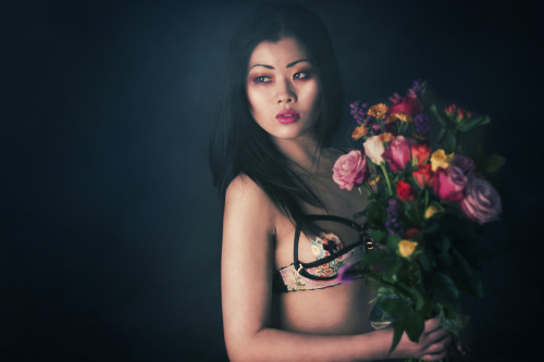 'La Bella Rosa' Been wanting to share the rest of these photos with you for a while! :) Keep your eye out tonight for more ;) A huge thank you to the creative team involved, I love these pictures!  Photography by Bella Kotak Model Little Twiglet Lingerie designed by Karolina Laskowska MUA & hair styling by Lydia Pankhurst © Copyright all rights reserved Bella Kotak 2012