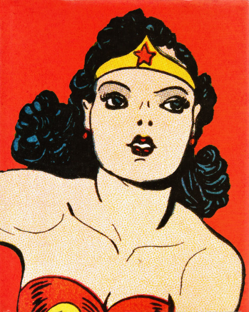 Wonder Woman illustration by H.G. Peter c. 1941