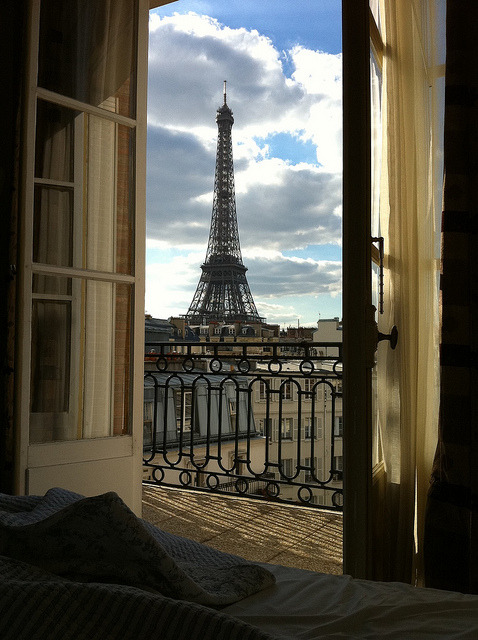 1k photography pretty room eiffel tower paris travel for Best view of eiffel tower from hotel room