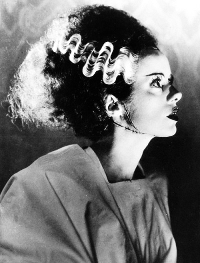 vintagegal:  Elsa Lanchester in The Bride of Frankenstein (1935)