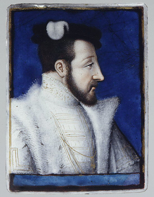 Henri II, King of France, ca. 1555-60. By Léonard Limousin.