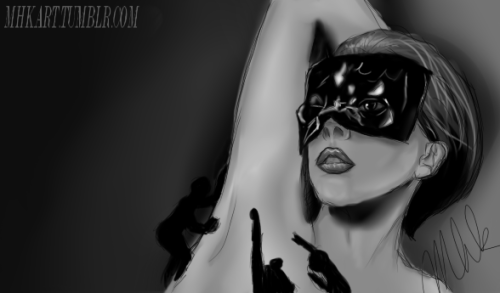 The Fame - black fluid