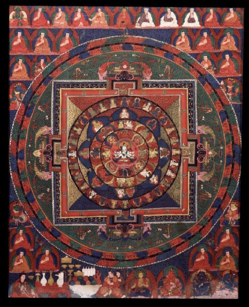 The Mandala of Pancha Raksha (via The Dwight School at the Rubin Museum of Art | Education at the Rubin)