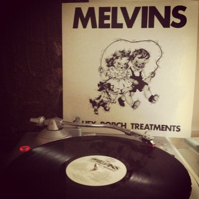 #nowlistening to #melvins 'gluey porch treatments' LP. saysa it's made in france on alchemy records in 1986. not sure where or when i got this, but i've had it for several years. prob picked it up at papa jazz in columbia or wax n facts in ATL. #vinyl #vinyligclub #records #LPs #nowplaying  (Taken with Instagram)
