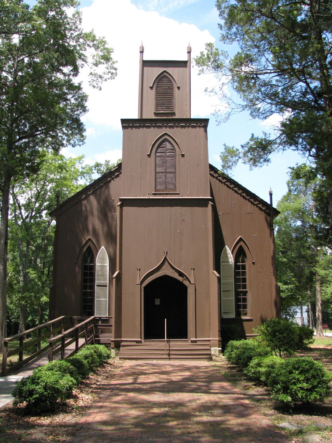 Zion Episcopal Church, Talbotton, Talbot County, Georgia