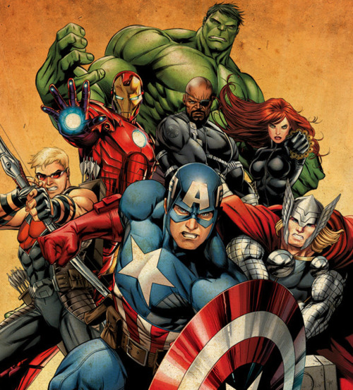 comicbookartwork:  The Avengers