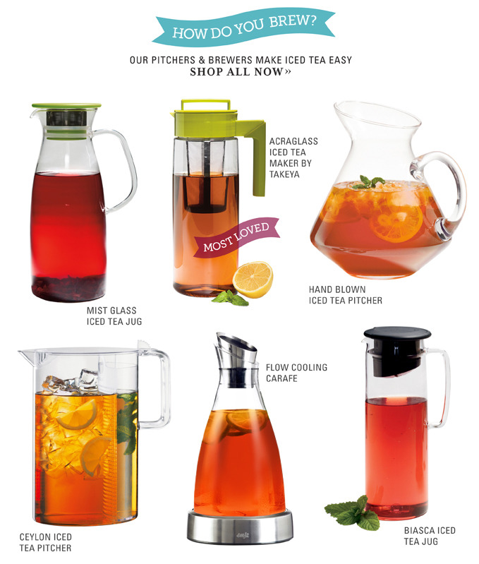 How do you make your iced tea?