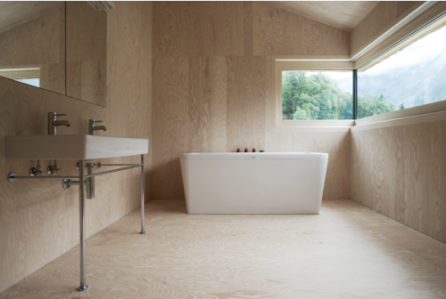 Things That Rock Our World: A Nice Modern Simple Bathroom
