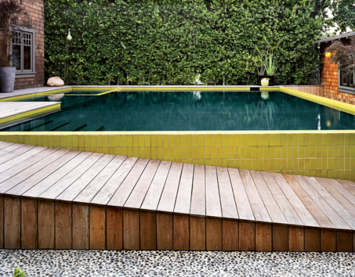 Things That Rock Our World: A Colorful Pool Entrance