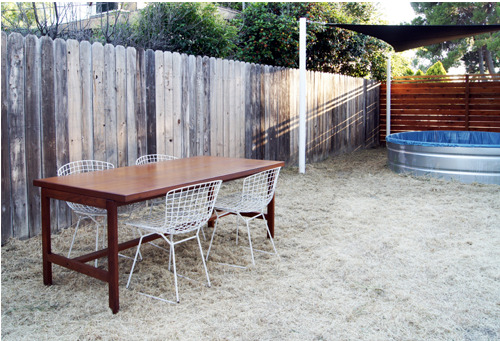 Things That Rock Our World: The Simplicity Of This Backyard