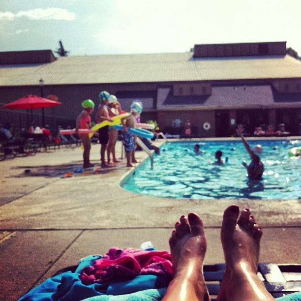 Swim Lessons   (Taken with Instagram)