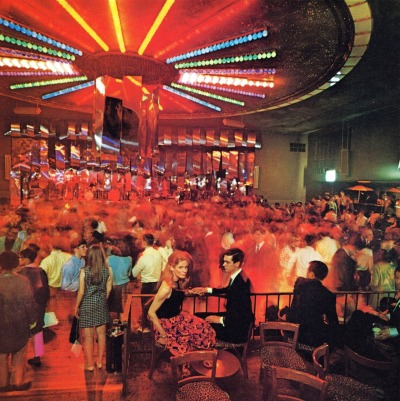 Cheetah nightclub, NYC, 1967 dtxmcclain:  Before Disco…