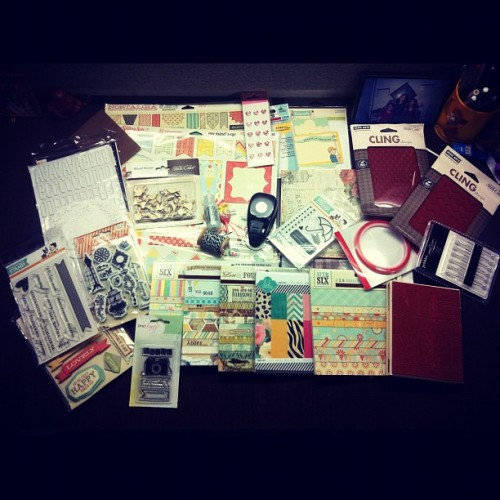 My goodies from #SimonSaysStamp. I'm in #love!!!! (Taken with Instagram at Balaji Krupa)