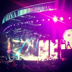 Madonna was amazing last night!