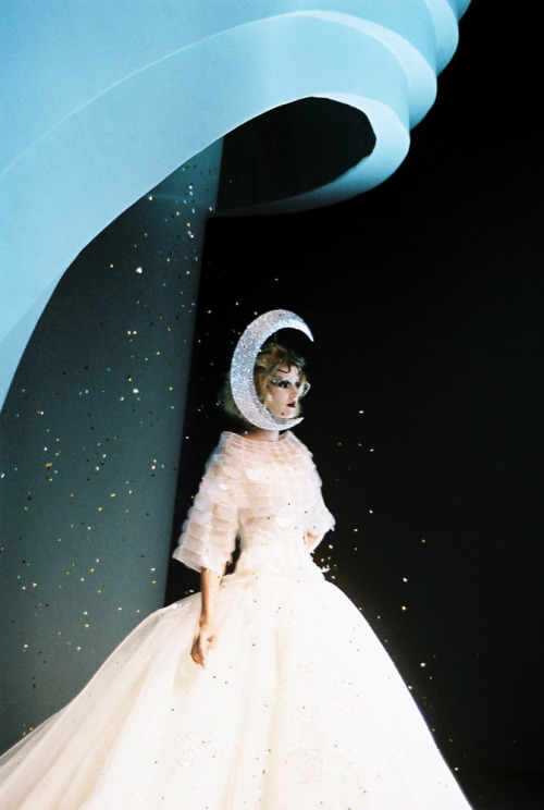 Snow Queen at Dior photographed by Kasia Bobula