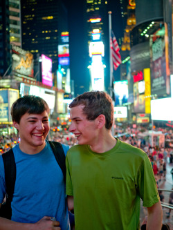 liaby:  My boyfriend and I went to Times Square last night :D  See how fantastic New York was?