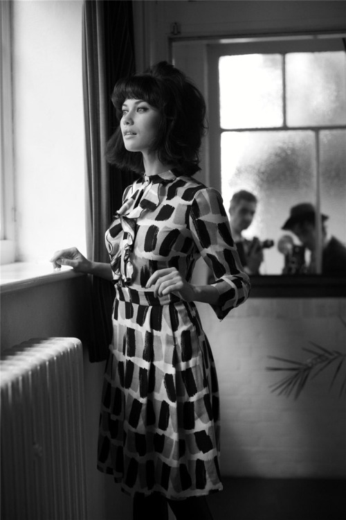 Olga Kurylenko. Photo by Greg Williams