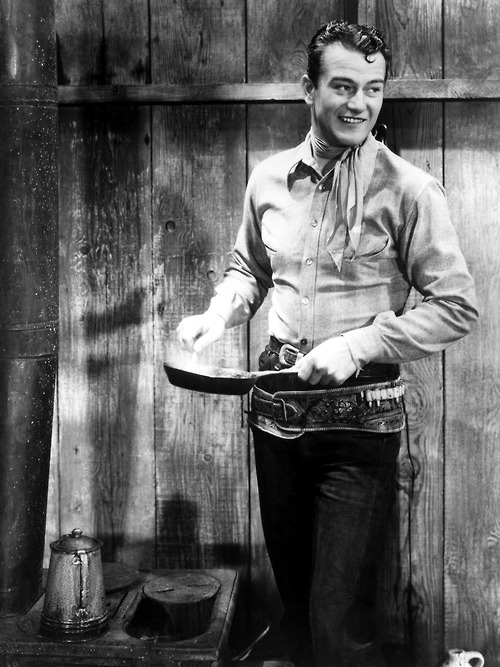 John Wayne in Blue Steel (1934)