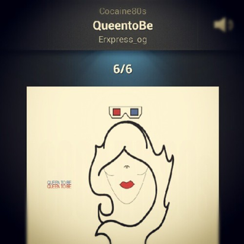 Hm, this song @cocaine80s #queentobe still on repeat!  (Taken with Instagram)