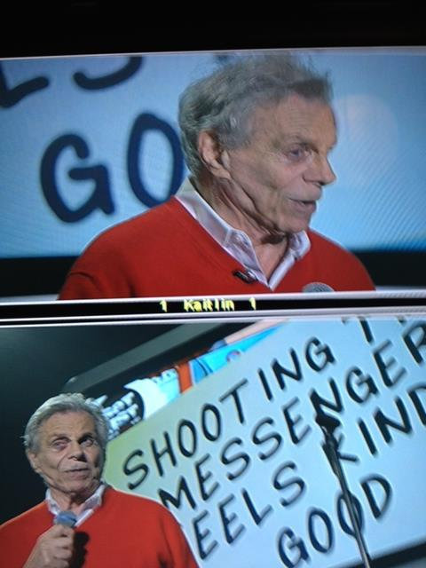 Mort Sahl @ Throckmorton Theater via Set List