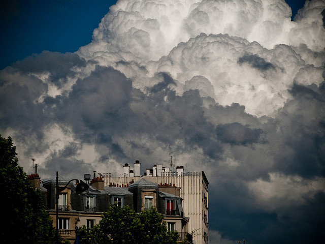 | ♕ |  Tempest - Paris summer | by © antoine g