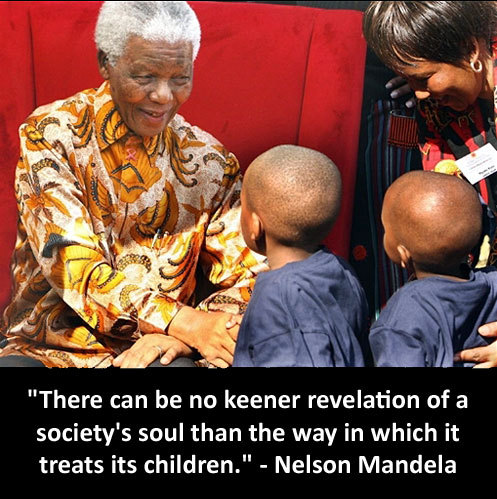 Nelson Mandela Children's Fund: www.nmcf.co.za