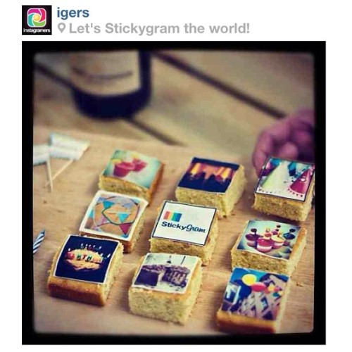 Happy Birthday to our friends @stickygram! Sending lots of love and cake your way! x (Taken with Instagram)