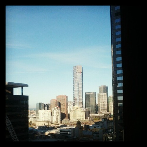 Southbank from Collins Place. #BlueSky #Melbourne on Instagram. http://instagr.am/p/NPXzB-AhFN/