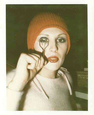 Lovely Candy Darling shot by Mapplethorpe, NY '73