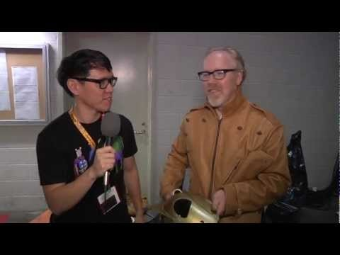 Adam Savage's Comic-con Costumes Tested.com shows off the Mythbusters star Comic-con costumes from this year. The Noface costume from Spirited away is so cool.