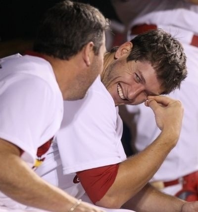freeselover:  This is what i do when people say St. Louis Cardinals are stupid. And i do that when the guys at my school tell me i dont know anything about Baseball.