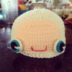 Yetti hat~ #crochet #crafts #handmade #hat #cute #monster  (Taken with Instagram)