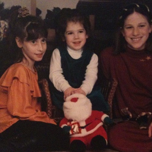 Me & my sisters, 1996. (Taken with Instagram)
