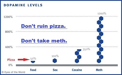 ilovecharts:  Meth and Dopamine