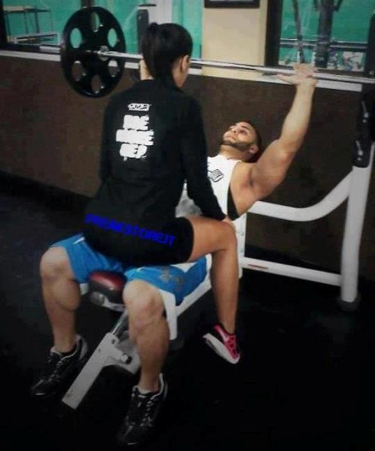 goodbyeexcuses:  I can sit on a guy like this! Just call me ;D fitandhealthyforlifee:  readmymonotony:  liftheavyorbust:  spiritguide:  invincibeard:  wifelife:  dontbeweak:  fabulousfit:  shawna-marie:  Supposedly there is a new study that says when a woman sits on a guy's hips when he is doing a chest press, his testosterone rises up to about 97.9% which promotes strength and muscle growth.  bahaha that's great. i wouldn't mind helping  I'd probably drop the bar on my face.  Guys- totally acceptable to ask a girl to do that.. its science after all!  Hey Rhonda.  LET'S GO  Dear god, yes  I will help in any way I can…  Well if you put it that way.
